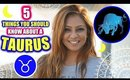 5 THINGS YOU SHOULD KNOW ABOUT A TAURUS! │ Taurus Spirituality, Personality Traits & Lucky Crystals!