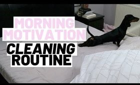 MORNING CLEANING ROUTINE UK | CLEANING MOTIVATION 2020
