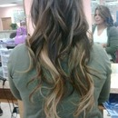 My first ombre hair