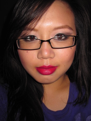 Playing around with bright lips #1