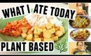 WHAT I ATE TODAY PLANT BASED | JaaackJack