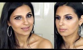 Purple Smokey Eyes   Spring/Summer Night Out Makeup Tutorial   Manisha Moments