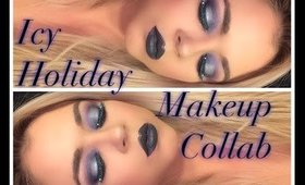 Icy Holiday Makeup Collab with Natalie Torres | Beauty by Pinky