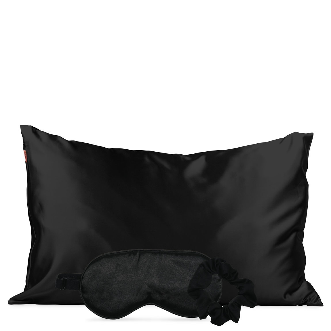 Kitsch Satin Sleep Set Black alternative view 1 - product swatch.