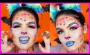 POP ART CHEETAH Lisa Frank Makeup