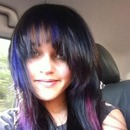 Colorful midnight hair <3