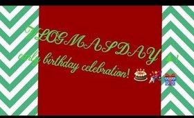 Vlogmas Day 3! Early Birthday Celebration! 🎉🎁🎂