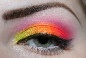Fruit Loops Used: Kryolan's UV Pallet
