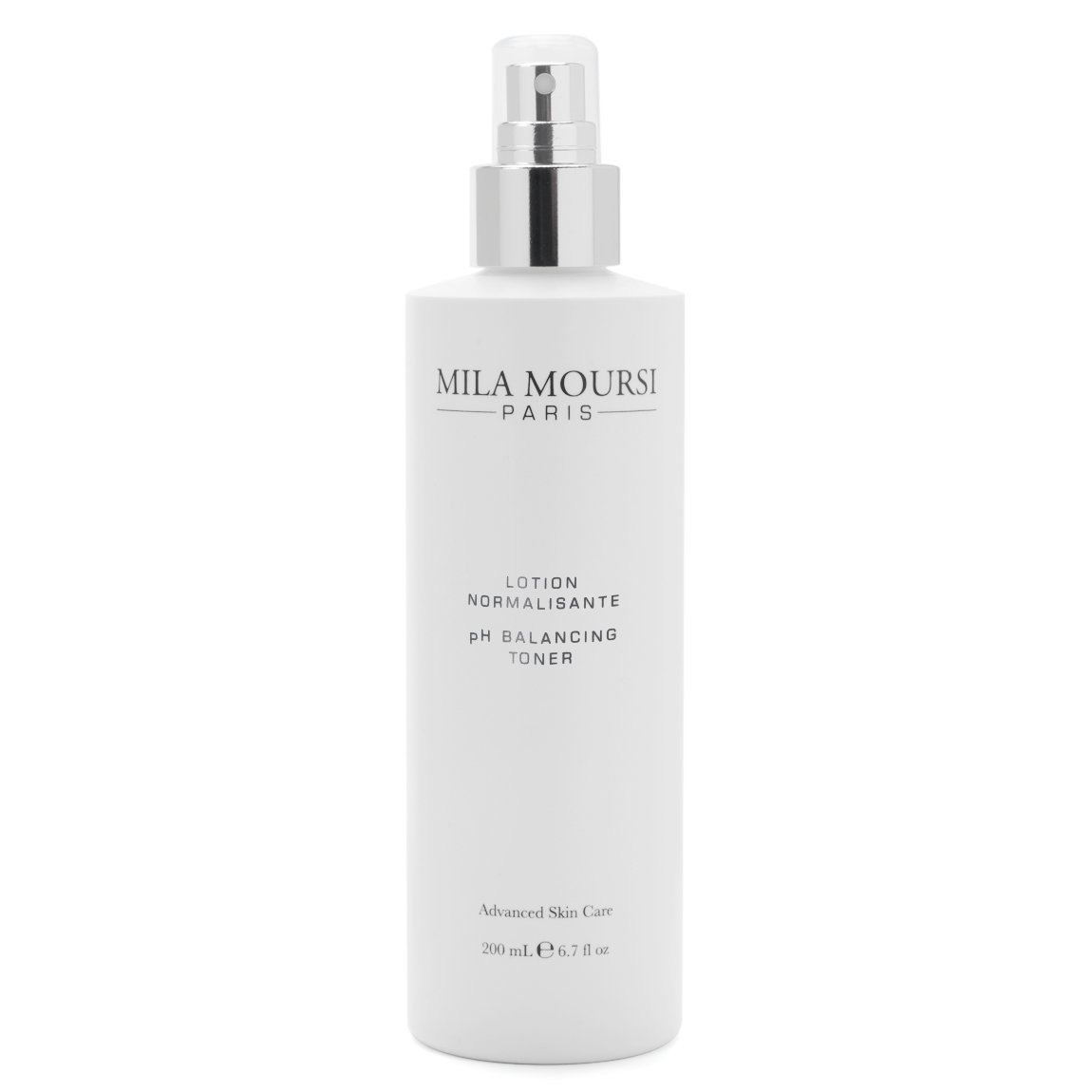Mila Moursi pH Balancing Toner 200 ml product swatch.