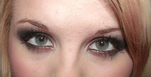 My best friends eye make up, I did for her!<3