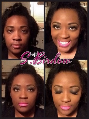 Makeup by me... Shay Birdow