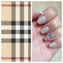 Burberry Nails!