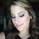 Neutral Eye w/ pinky purple lips