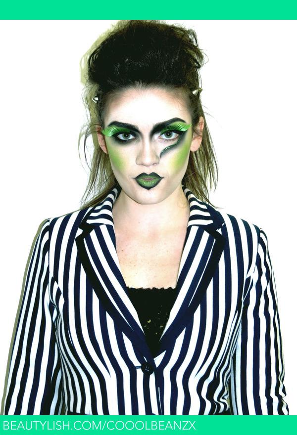 Beetlejuice Inspired Hair/make-up | Liz H.u0026#39;s (lizhernandy) Photo | Beautylish
