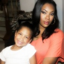 My sis and her daughter. makeup by me