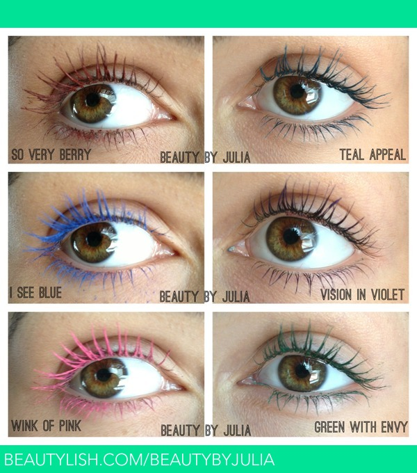 84cb9aec86b NEW Maybelline Colored Mascara | Julia S.'s (beautybyjulia) Photo ...