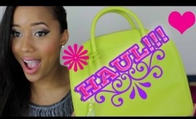 Makeup & Fashion Haul: Germany, Lippies, NYC & More- MsTrueHappiness