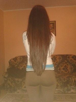 my long long hair <3