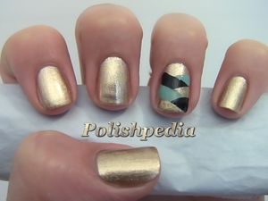 I'm not getting anything done because I keep staring at my beautiful nails!  Watch My Video Tutorial @ http://polishpedia.com/fishtail-braided-accent-nail-art.html
