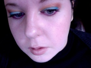 Wearable mad hatter makeup