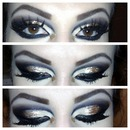 Cut crease Gold Black