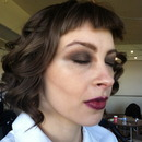 1930s inspired Hair and Makeup for the film Cecile's Room