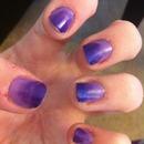 light purple,dark purple
