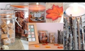 Easy DIY Decorations For Fall! ♡