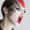 Fierce Kabuki/Geisha Look