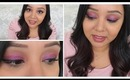 Cranberry holiday eye tutorial!
