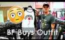 Boyfriend Buys Girlfriends Outfits | Shopping Challenge 2017
