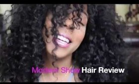 Virgin Brazilian Curly (Aliexpress) Modern Show Hair Review