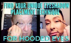 Find Out How To Apply Eyeshadow Correctly For Your Unique Hooded Eyes | mathias4makeup