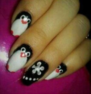 Penguin/ Christmas/ Winter Inspired :)
