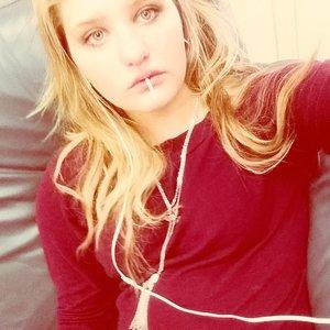 Im looking hot today blonde hair blue eyes