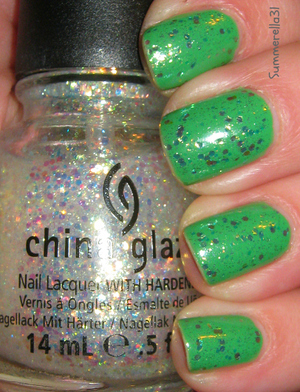 Essie Mojito Madness and China Glaze Make A Spectacle