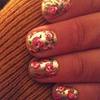 shiny shiny rose nails