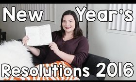 New Year's Resolutions 2016 | OliviaMakeupChannel