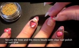 leopard hime nails