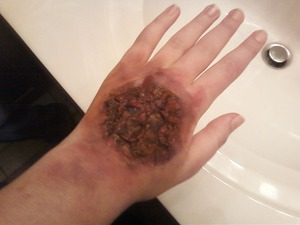 Just did some special effects what should I say happened