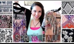 Spring / Summer Fashion Haul! ♡ Forever21 / Dynamite / Garage
