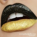 Dark Glam Two Toned Lips