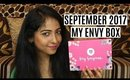 MY ENVY BOX SEPTEMBER 2017 | Unboxing and Review | POPXO Collaboration | Stacey Castanha