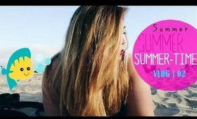GIRLS BEACH DAY -- SANTA MONICA  | Follow Cat -- Ep.02