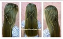 Criss Cross Waterfall Twist Braid Hairstyle