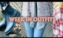 WEEK IN OUTFITS - FALL / WINTER LOOKBOOK 2017