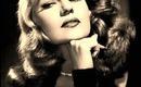 Rita Hayworth 40's Glamour inspired make-up tutorial