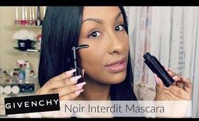Givenchy Noir Interdit Mascara 90° Bendable Brush | Demo | Influenster