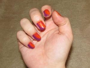 NOTD;; When in Doubt, Polka Dots!  Blog post here: http://rivuletsbeauty.blogspot.com/2011/11/notd-when-in-doubt-polka-dots.html