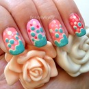 Bubbly Bright nail art & tutorial with Barielle Summer Fun collection